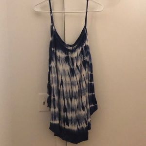 Tie Dyed American Eagle Tank